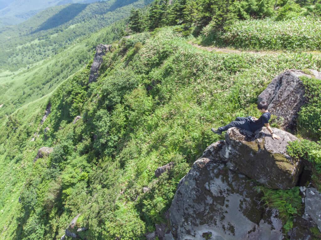 破風岳 山頂