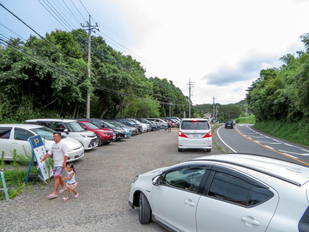 亀岩の洞窟 第二駐車場