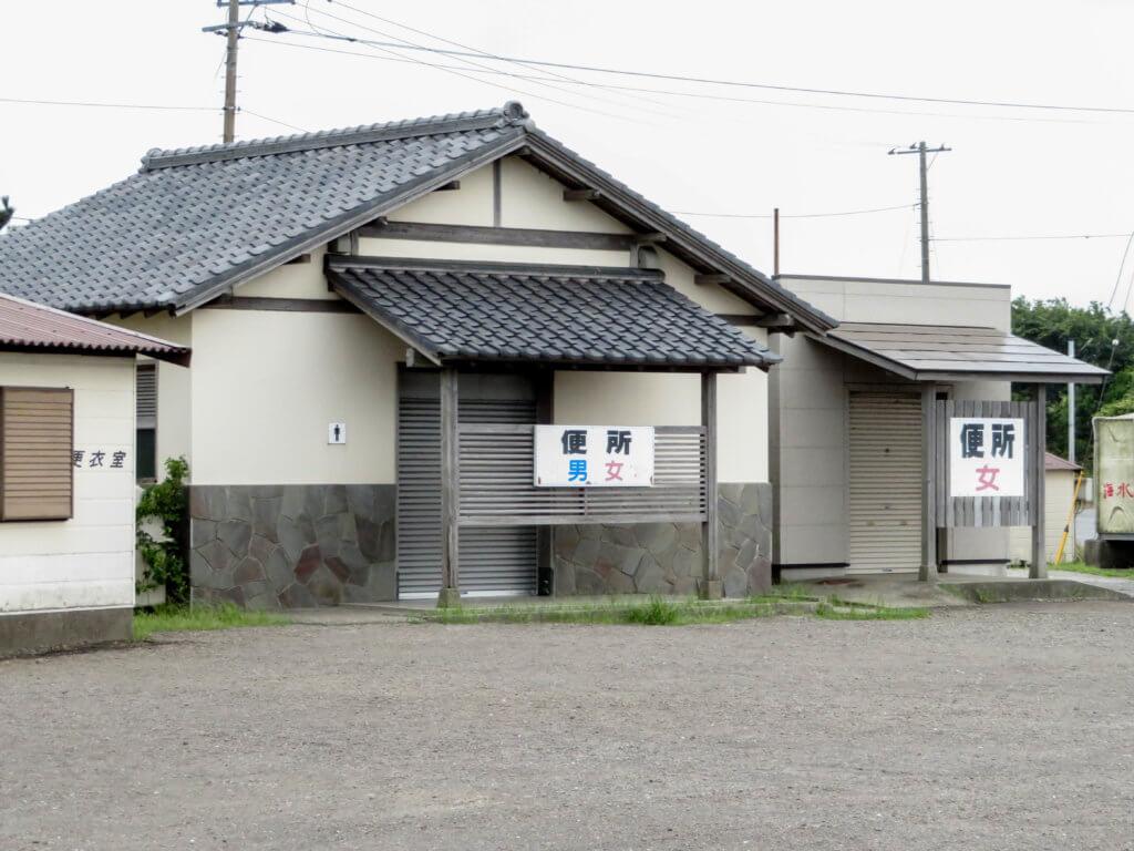 江川海岸 トイレ