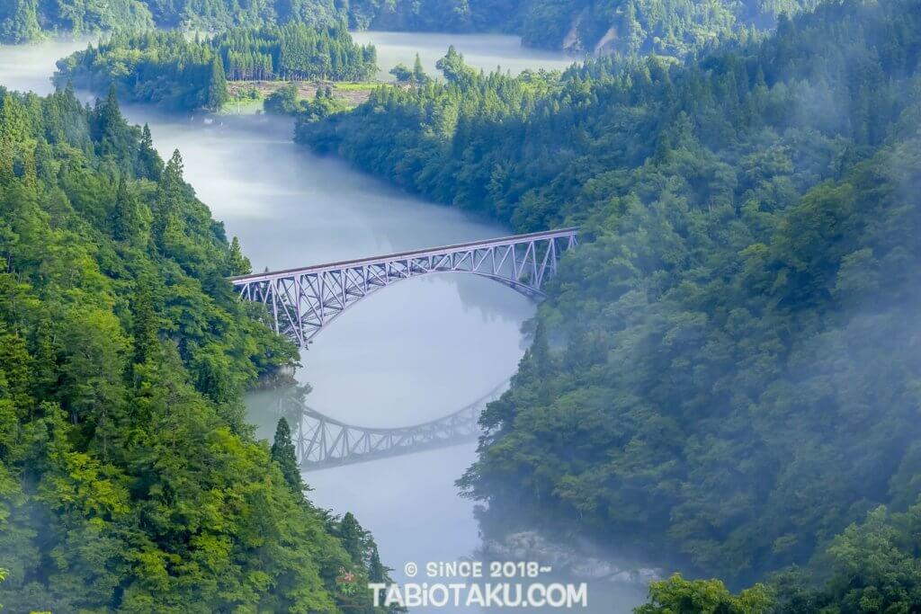 第一只見川橋梁展望台