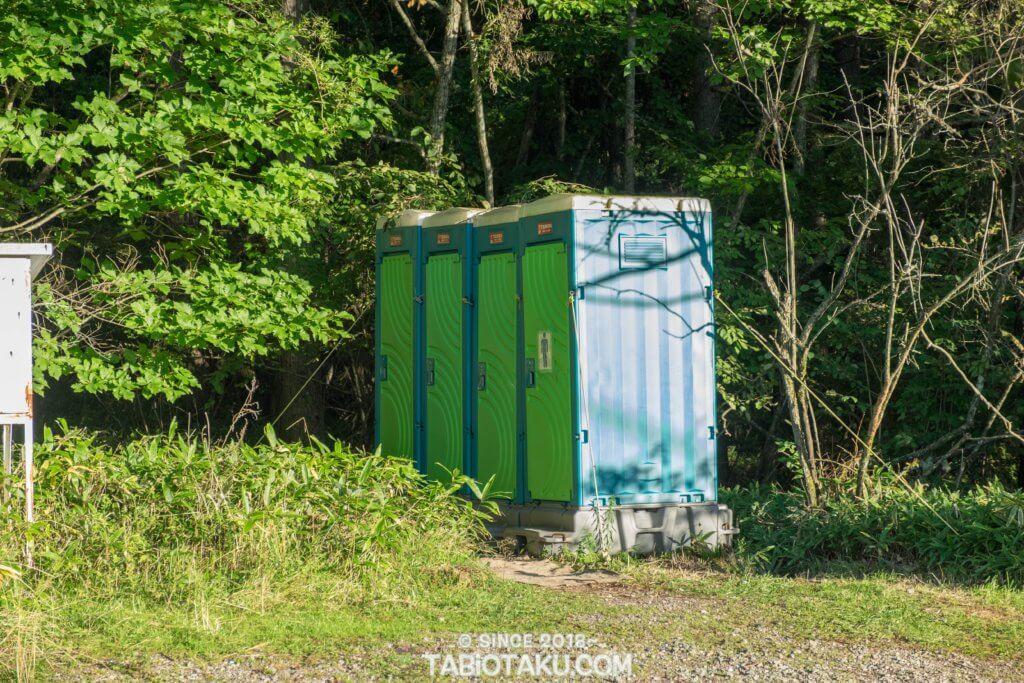 御射鹿池 トイレ