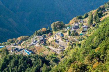 【カメラマン】長野県の秘境「下栗の里」の展望台で撮影する時の注意