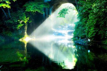 【カメラマン】濃溝の滝でハート型の光芒が見れる撮影スポット