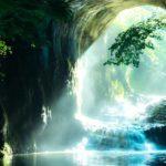 まさにジブリの世界?千葉にある『濃溝の滝』で神秘的な光景を見る