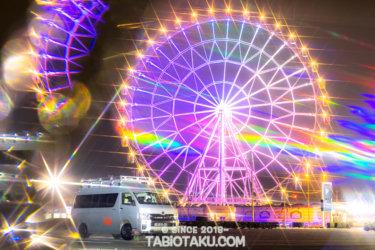 【愛車と絶景】千葉にある観覧車と車のコラボがフォトジェニック!